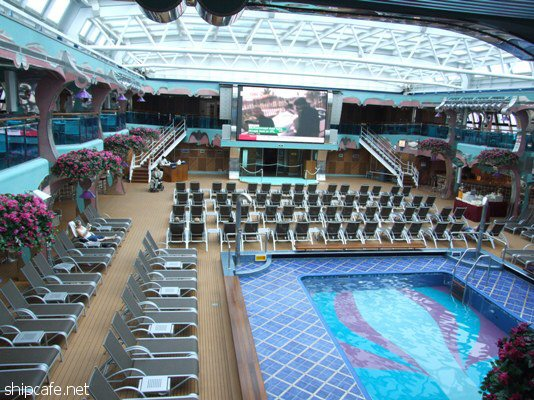Carnival Dream Panorama Deck Pictures To Pin On Pinterest