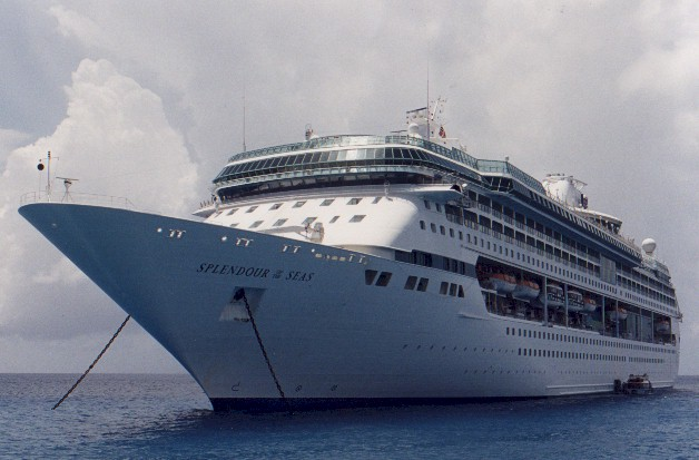 M/S Splendour of the Seas at Anchor